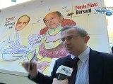Agrigento, il candidato a sindaco Arnone con posterbus di Bersani Ponzio Pilato News AgrigentoTV
