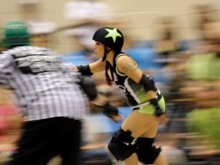 Roller Derby Highlights - Hard Knox Roller Girls Music Video