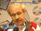 Il Pres. Lombardo Commenta I  Risultati Delle Elezioni Amministrative 2012 - News D1 Television.mpg