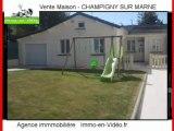 Achat Vente Maison CHAMPIGNY SUR MARNE 94500 - 106 m2