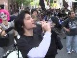 Manifestations anti-FMI à Tokyo