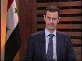 Dans une interview, Bachar Al-Assad réfute la création d'une zone tampon en Syrie