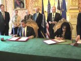 Visite en France de Jay Dardenne, lieutenant-gouverneur de Louisiane (17.10.12)