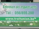 entretien des espaces verts à Mouscron Le Trait d'Union