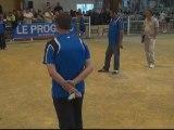Demi-finale de l'International à pétanque de BRON 2012