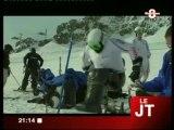 L'équipe de France de Ski d'handisport à Tignes