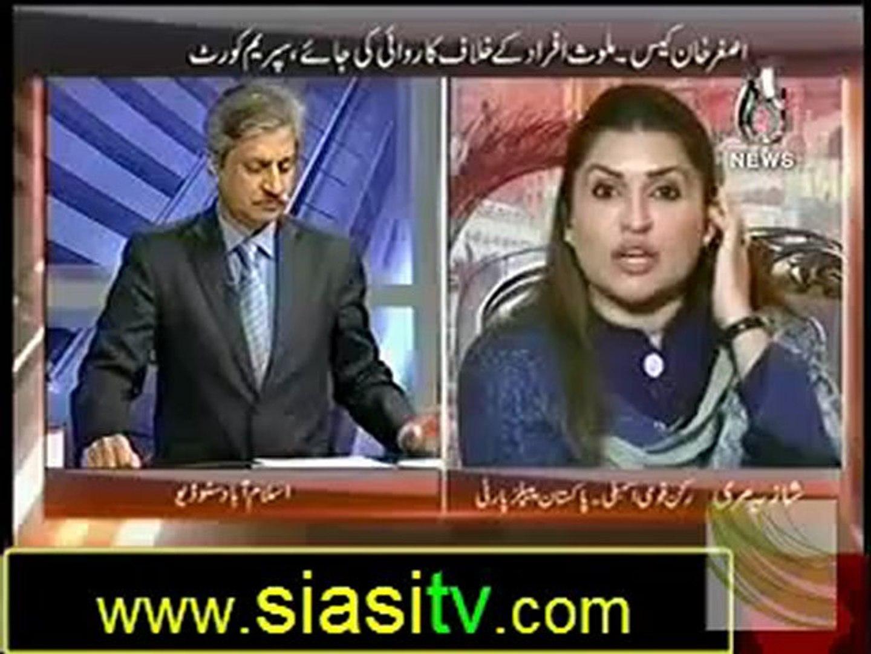 Bottom Line on Aaj News 20th October 2012