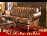 BEST PRICE Victoria Classic Tri-Tone Leather Sofa in Tri-tone Leather Finish