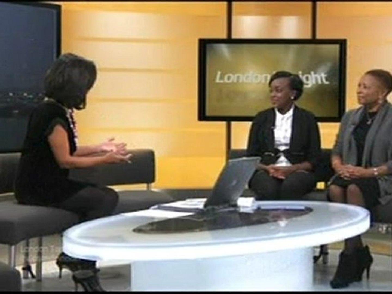 Beverley De-Gale (Founder - African Caribbean Leukaemia Trust) and Diana Kaganda for donation month