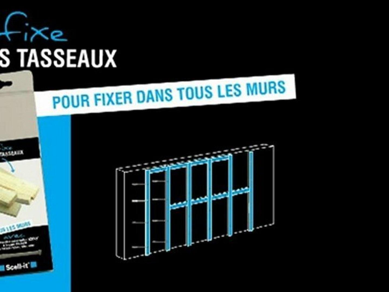 Comment Fixer Des Tasseaux comment fixer mes tasseaux ? - vidéo dailymotion