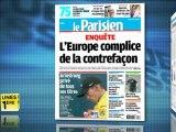Revue de presse Unes 1ère - La Revue de Presse du 23/10/2012