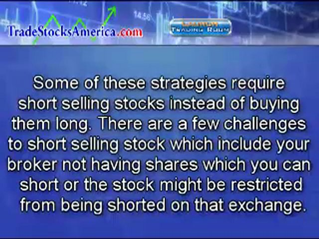 Stock Trading Strategies and Systems that WORK | TSA