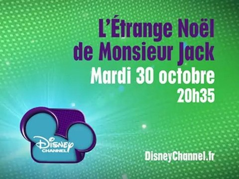 Disney Channel - L'Étrange Noël de Monsieur Jake - Mardi 30 octobre à 20h35