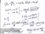 Quimica 1º bachillerato reacciones quimicas ejercicio 14