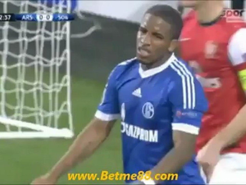 Agen Togel-Arsenal Vs Schalke 0-2 2012|Betme88.com