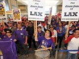 LAX workers plan major demo during Thanksgiving