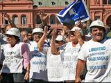 Argentina workers hold massive rally to protest labor risk bill