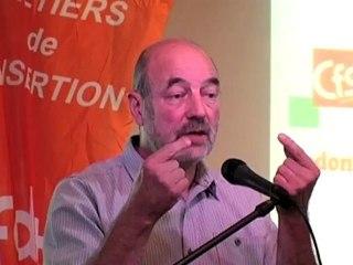 Paul Timmermans - VI congrès du Synami-CFDT à Bruges