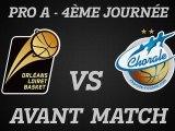 Avant-Match - J04 - Réception de Roanne