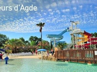 Camping 3* 'Les Fleurs d Agde': camping famille avec piscine et animations