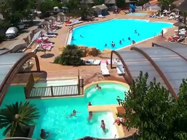 Camping 4* 'Le Boucanet': camping en bord de mer avec piscine et animations