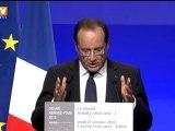 Rapport Gallois : François Hollande promet un pacte de compétitivité