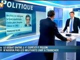 La rivalité entre François Fillon et Jean-François Copé n'était pas perceptible durant le débat