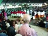 Madagascar, Messe du Père Pédro le 1er janvier 2006
