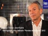 Prix Littéraire : Paroles de Patients - Interview Serge Hefez