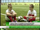 Twin Winners: 'Sashas from Russia' behind World Cup 2018 promo success