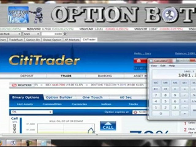 Binary Options Trading $1622 In Just 45 Minutes All From HOME