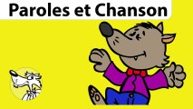 Chanson pour enfants Le loup sympa de Stéphy -Série Chant et Paroles-