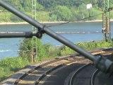 Züge + Schiffe Assmannshausen, Crossrail 185, RTB-Railpool 185, DBAG 185, Railion 185, 428, 427