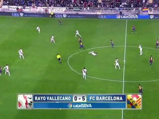 Rayo Vallecano 0 Barça 5