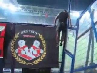 Тесак на футболе - Tesak on football