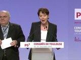 Charte éthique - Alain Bergounioux et Adeline Hazan - Congrès de Toulouse