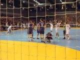 PSG Handball - Nantes / Coupe de la Ligue Handball / Coup-franc de la victoire