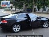 Occasion BMW 630 LE PERRAY EN YVELINES