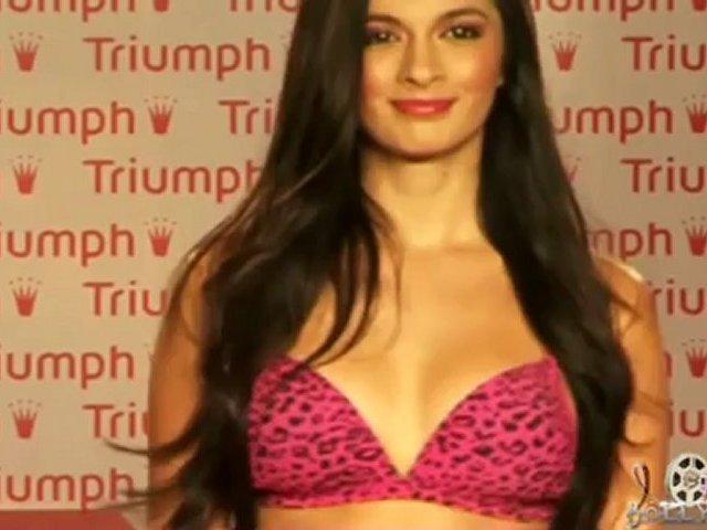 Triumph Lingerie Fashion Show 2012 & Triumph Inspiration Award, India – Uncut
