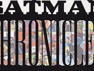 CGR Comics - THE BATMAN CHRONICLES VOLUME 1 comic review