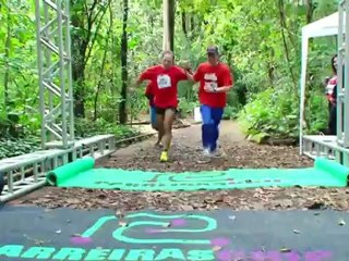 Corrida e caminhada em prol da saúde