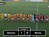 Liga Adelante Alcorcón 1 Murcia 0