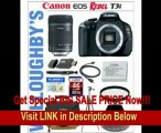 Canon EOS Rebel T3i 18 MP CMOS Digital SLR Camera with Canon EF-S 18-135mm f/3.5-5.6 IS Lens + Canon EW73B Lens Hood + Canon LPE8 Spare Battery + 67mm Essential Pro DHD UV Filter + LEXSpeed 32GB SDHC Class 10 Memory Card + Sunpak Heavy Duty Digital M