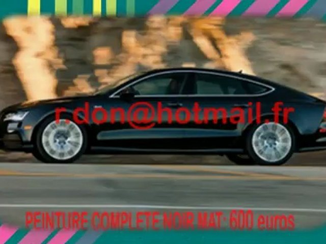 Audi A7, audi A7, Essai video audi A7, covering audi A7