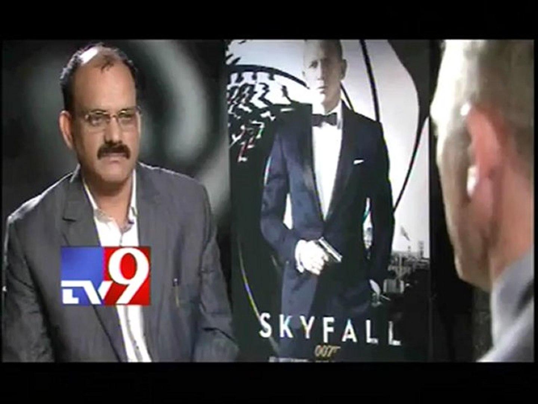 Daniel Craig on Skyfall 007 - Tv9 Exclusive