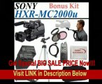 Sony HXR-MC2000U - Camcorder - High Definition - widescreen - 4.2 Mpix - optical zoom: 12 x - supported memory: SD, MS PRO Duo, SDXC, MS PRO Duo Mark2, MS PRO-HG Duo HX, SDHC, MS PRO-HG Duo - flash card + Huge Accessories Package Including 2x Extende