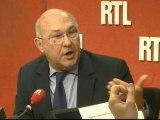 Michel Sapin, ministre du Travail, répond aux auditeurs de RTL