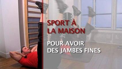 Sport à la maison : pour avoir des jambes fines