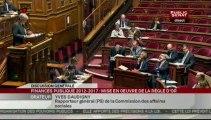 SEANCE,Projet de loi organique relatif à la programmation et à la gouvernance des finances publiques