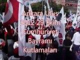 Ankara/ Ulus 29 Ekim 2012 Cumhuriyet Bayramı kutlamaları